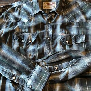 Rafter C pearl snap, vintage style western shirt
